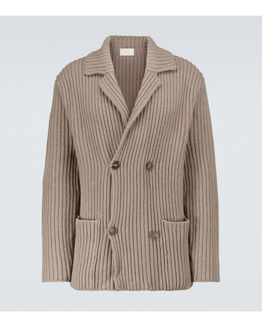 The Row Natural Delfino Wool And Cashmere Jacket for men