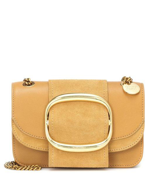 05b5d546 Women's Yellow Hopper Small Leather Shoulder Bag