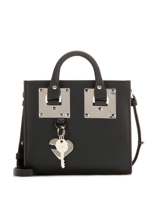 Sophie Hulme | Black Box Albion Leather Shoulder Bag | Lyst