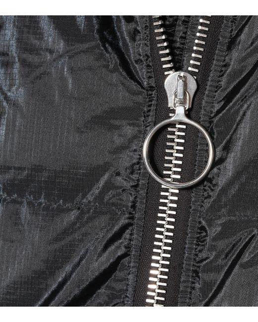 Manteau matelassé Pyramide Ienki Ienki en coloris Black