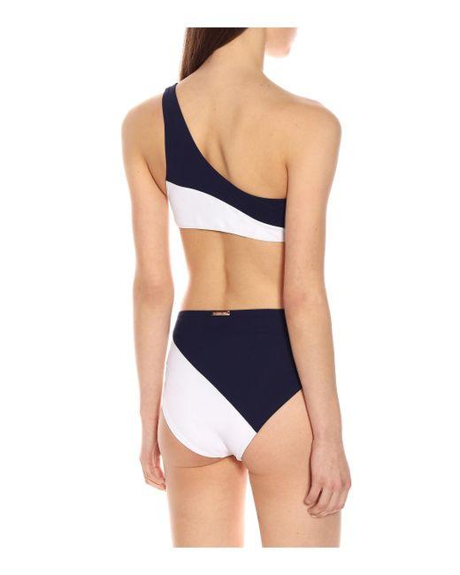 Alexandra Miro White Bikini-Oberteil Bella