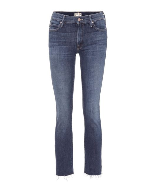 Mother - Blue Jeans The Rascal Ankle Snippet - Lyst