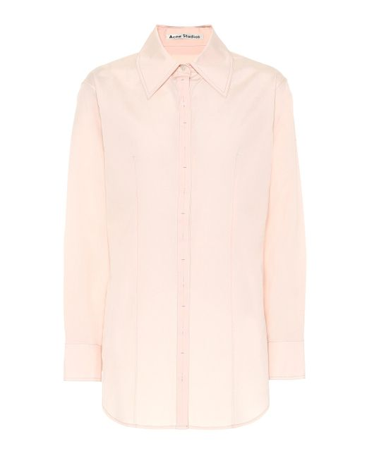 Acne Pink Cotton Shirt