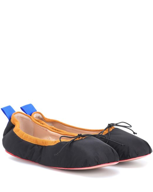 Acne | Black Pixi Ballerinas | Lyst
