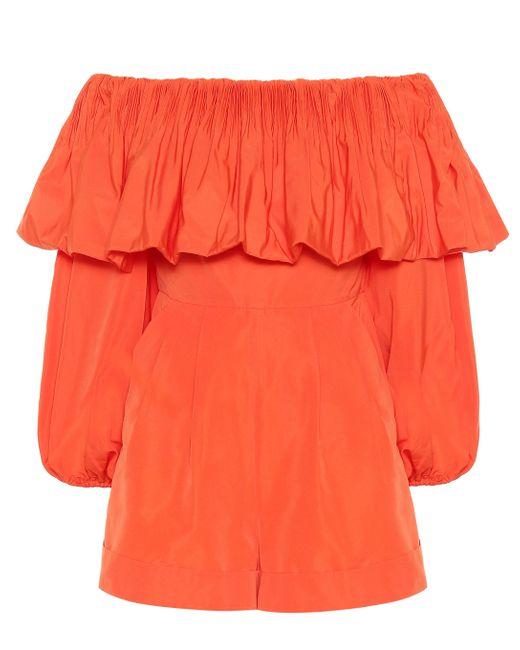 Mono en mezcla de algodón Valentino de color Orange