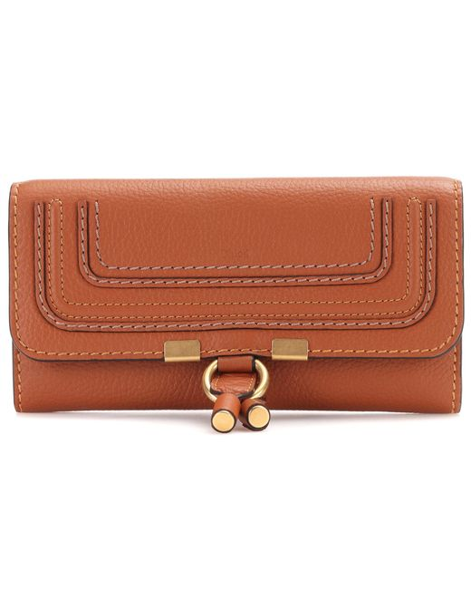 Marcie flap-over leather wallet Chlo F97a8