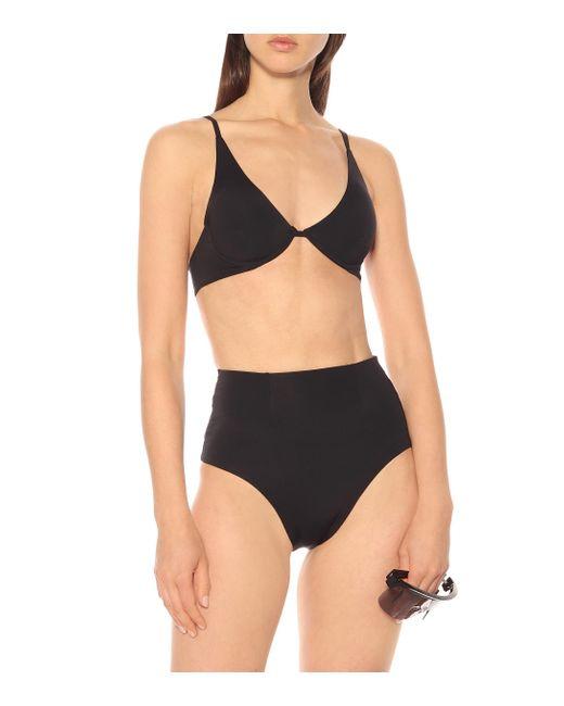 Bikini Underwired Haight en coloris Black