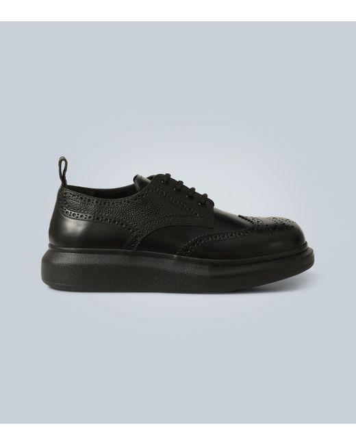 Alexander McQueen Schnürschuh in Black für Herren