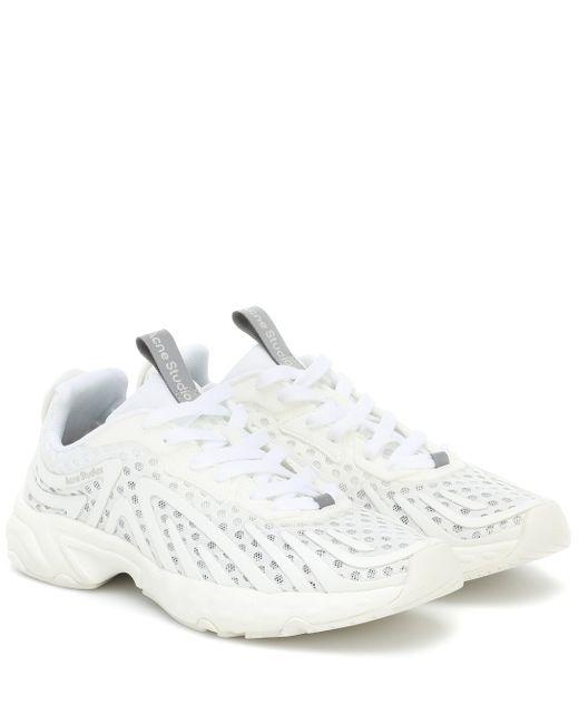 Baskets Trail Acne en coloris White