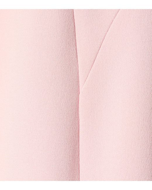 e86bffd8 Versace Embellished Silk Gown in Pink - Lyst