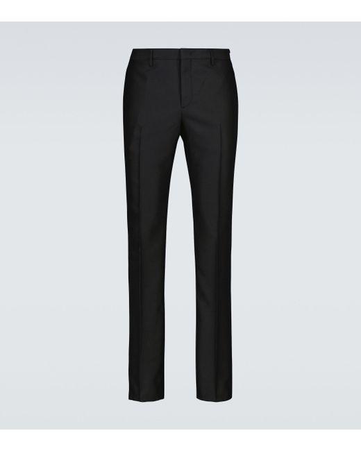 Fendi Anzughose aus Wolle in Black für Herren