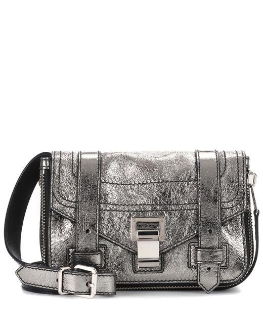 Proenza Schouler - Metallic Ps1+ Mini Leather Shoulder Bag - Lyst