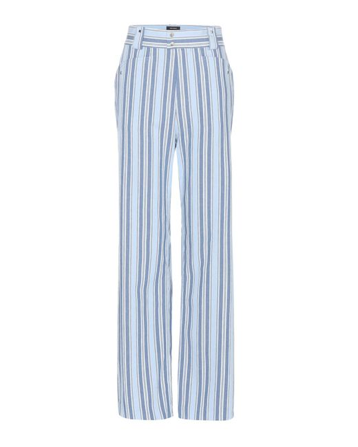 Isabel Marant - Blue Selina Cotton Trousers - Lyst