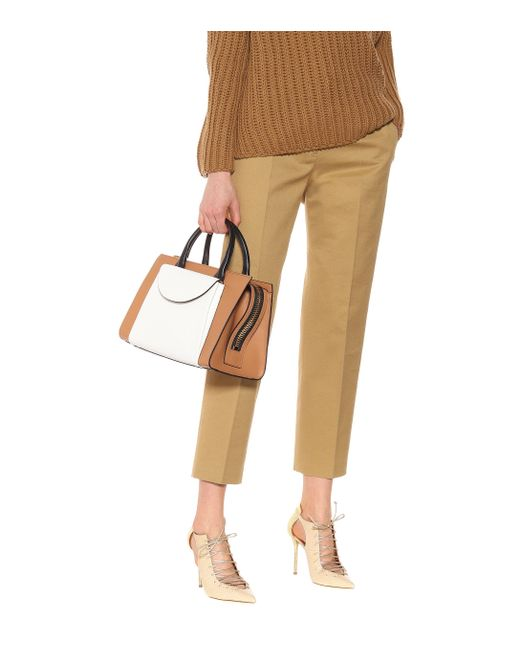 58a2af406000 ... Marni - Brown Law Leather Tote - Lyst ...