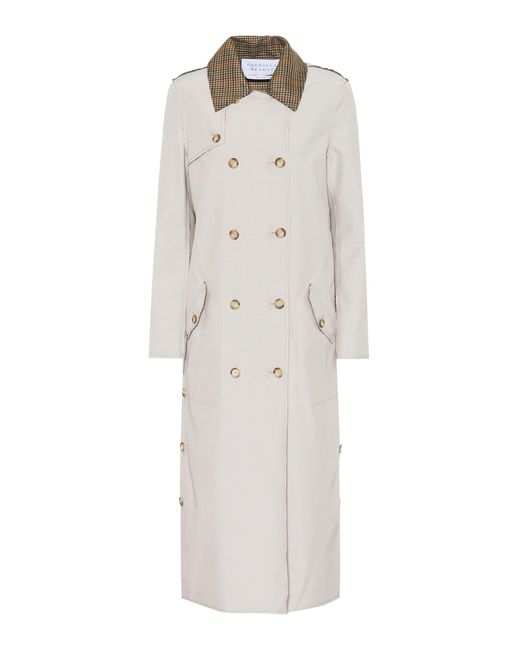 Gabriela Hearst - Natural Claremont Reversible Trench Coat - Lyst