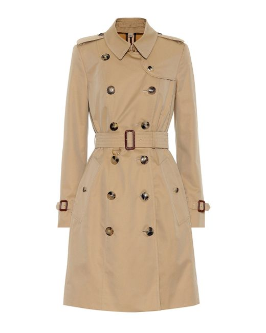 Burberry Natural The Chelsea Cotton Trench Coat