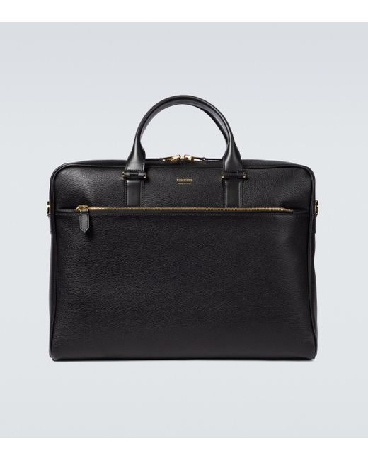 Tom Ford Mittelgroße schmale Aktentasche in Black für Herren