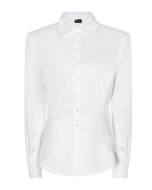 Camicia in cotone di Magda Butrym in White
