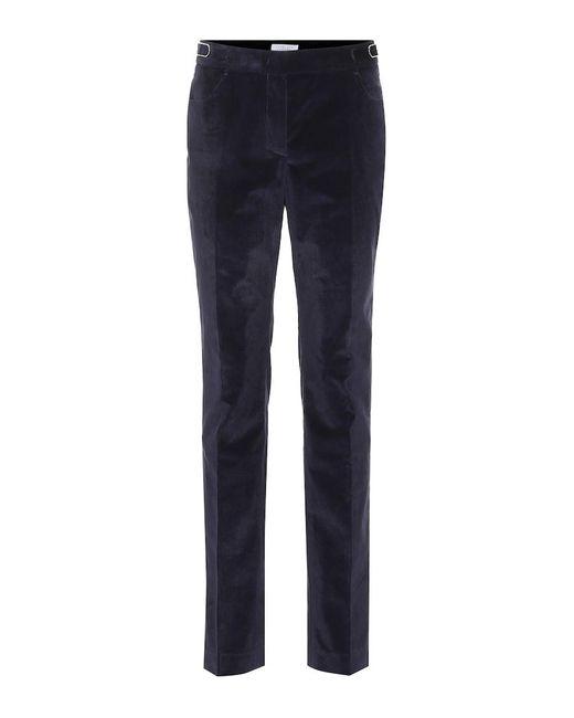 Pantaloni Gustavo in velluto a coste di Gabriela Hearst in Blue