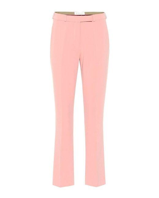 Pantaloni in crêpe di Etro in Pink