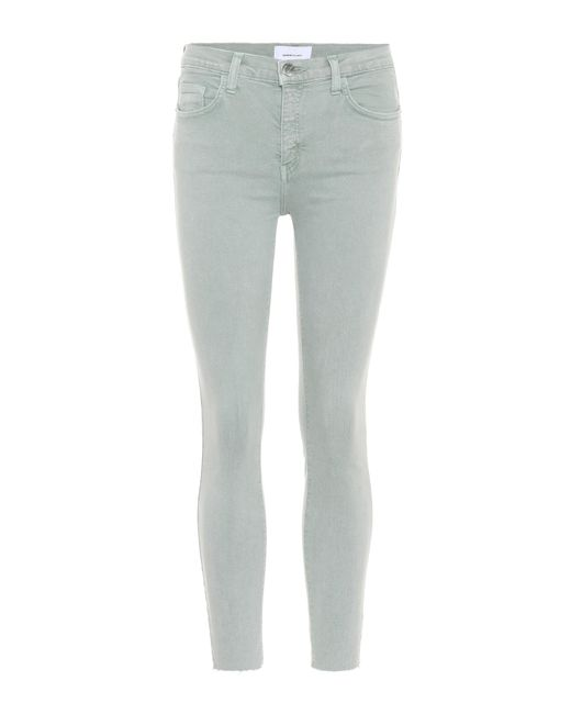 Current/Elliott Green The Stilleto Skinny Jeans