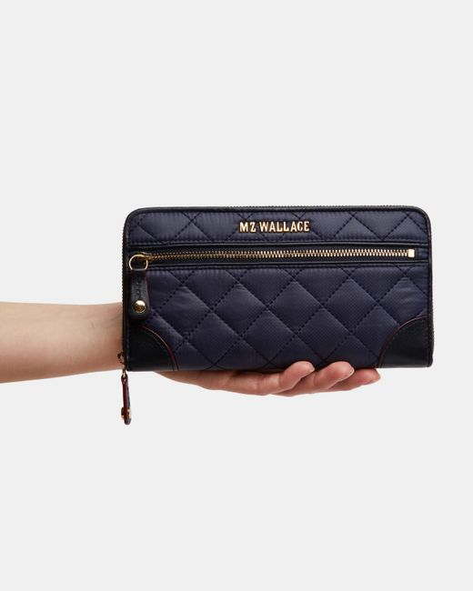 MZ Wallace Blue Dawn Crosby Long Wallet (11661099)