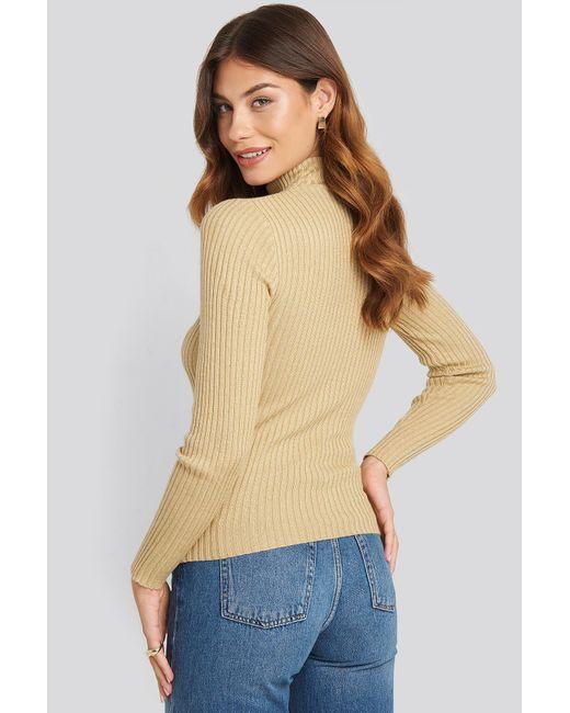 Sisters Point Multicolor Leni Turtleneck Sweater