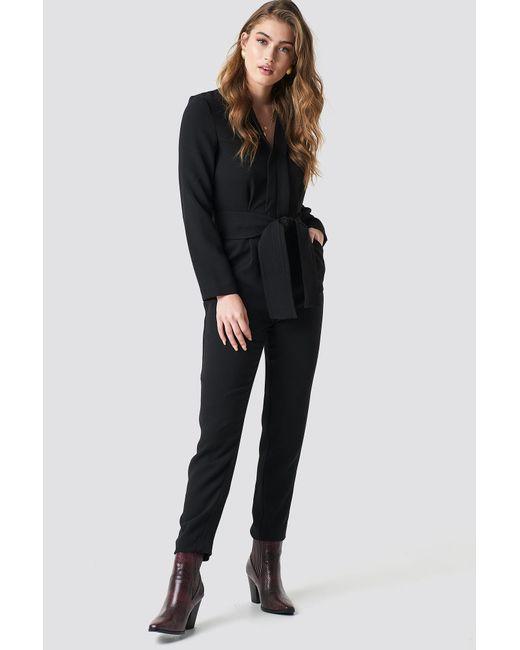 Mango - Marin One-piece Suit Black - Lyst
