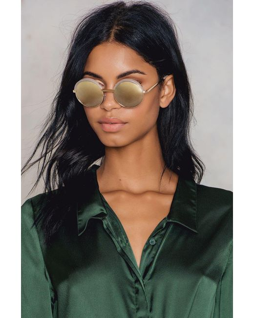 Le Specs   Metallic Luxe Jester   Lyst
