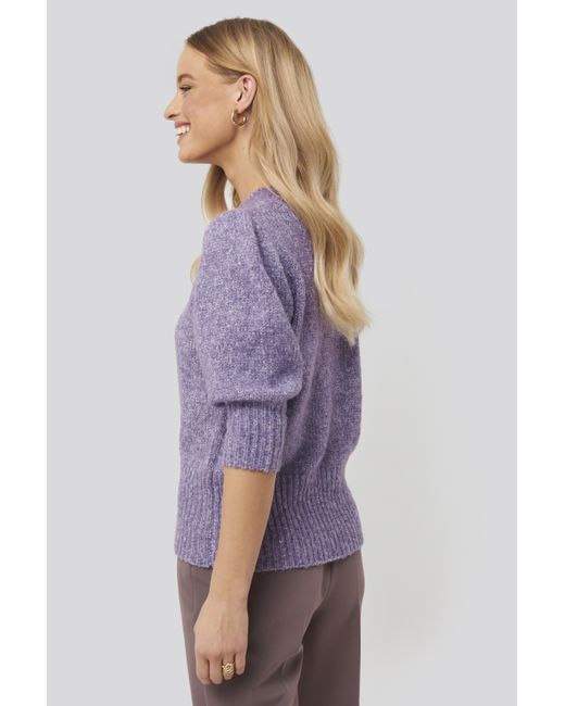 NWT GUESS ROYAL PURPLE ZIP FRONT SWEATER W// RHINESTONES