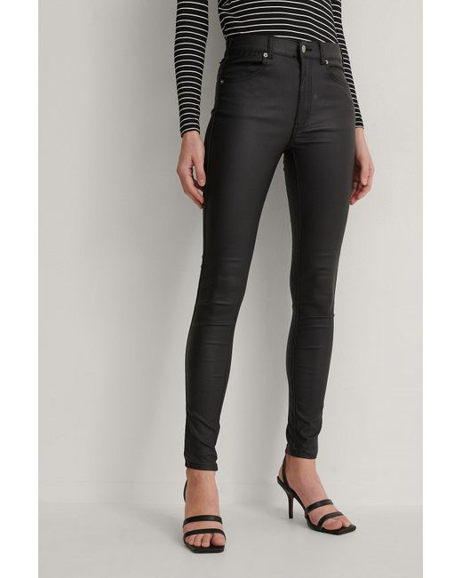 Dr. Denim Black Super Skinny Jeans