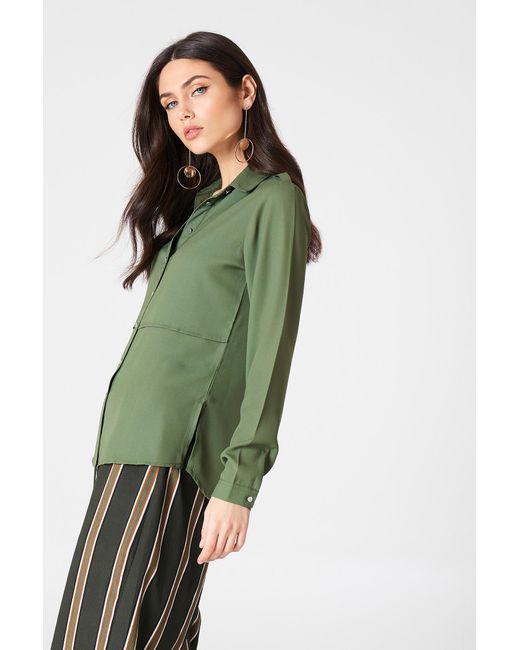 Rut&Circle - Green Penny Shirt - Lyst