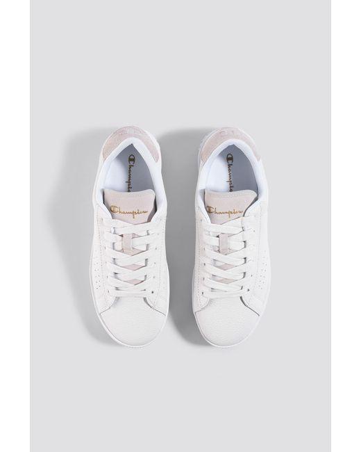 a2f7d52f7ad ... Champion - Era Leather Sneaker S10535 White - Lyst ...