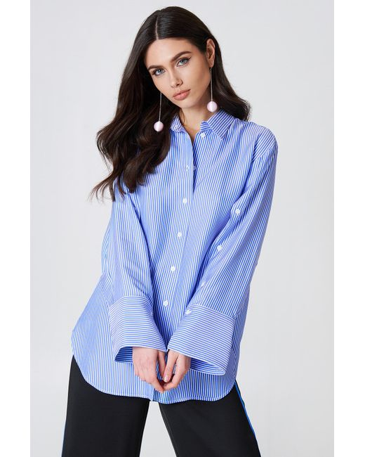 By Malene Birger - Nadeonso Shirt Hyper Blue - Lyst