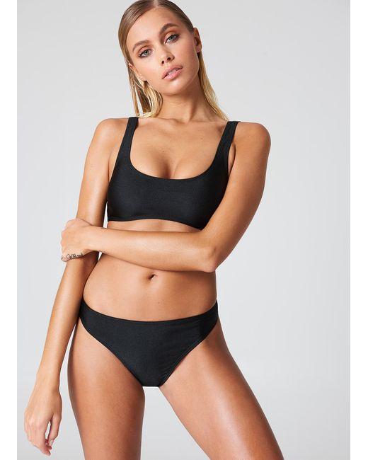 NA-KD Sporty Bikini Briefs in het Black