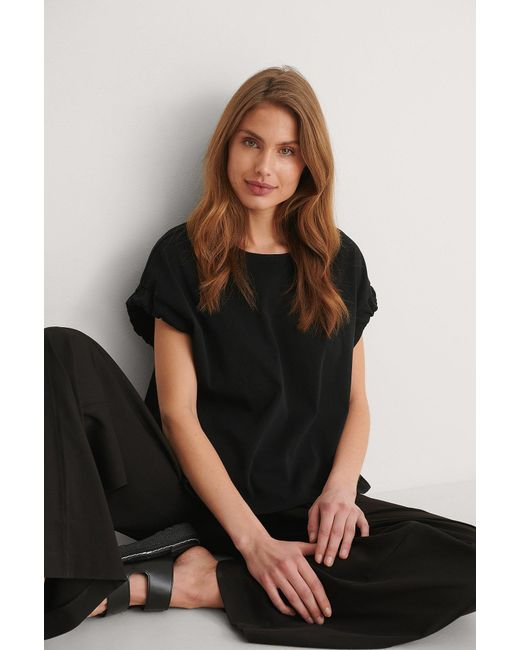 Mango Black T-Shirt