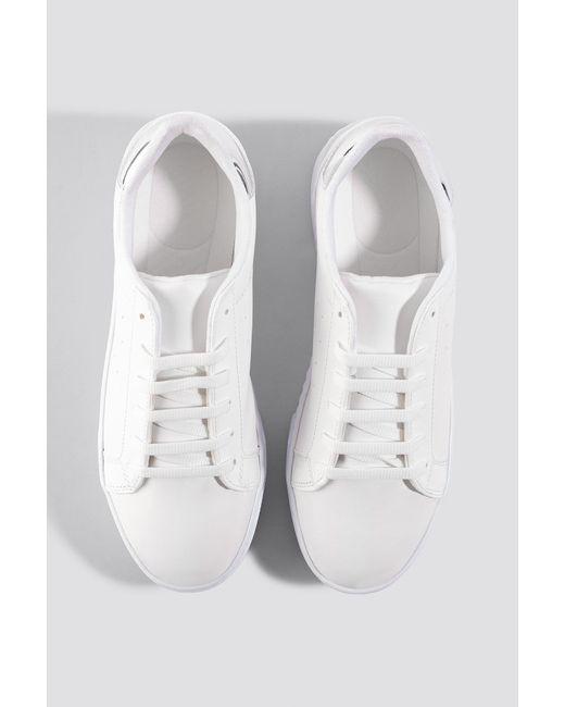 super popular cec88 df580 Trendyol Taks Sneakers White - Lyst