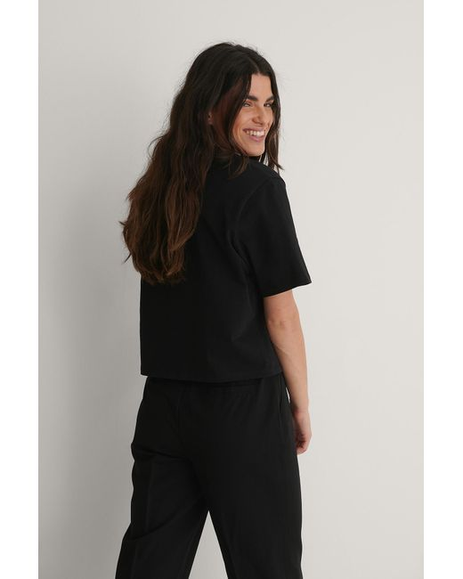 NA-KD Oversized T-shirt in het Black