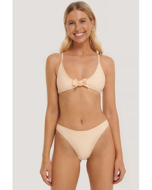 NA-KD Multicolor Swimwear Hochgeschnittenes Bikinihöschen