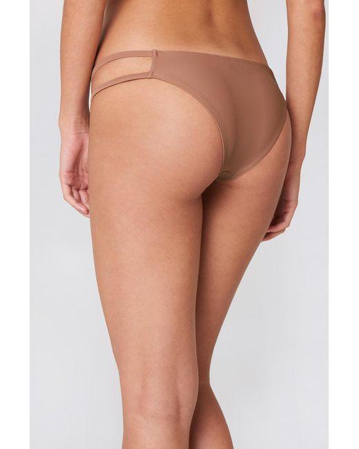 6bc6541f97 Women's Strap Bikini Bottom Pink
