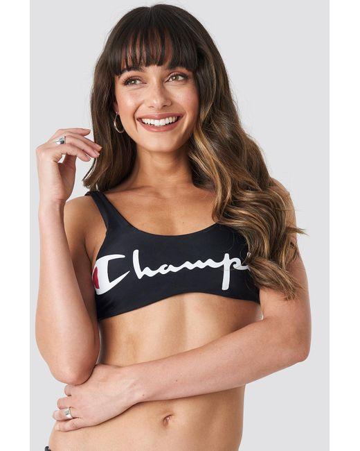 Champion Aop Bikini Top in het Black
