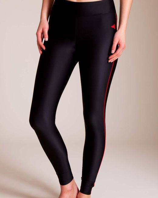Laain - Black Tamara Side Piping Legging - Lyst