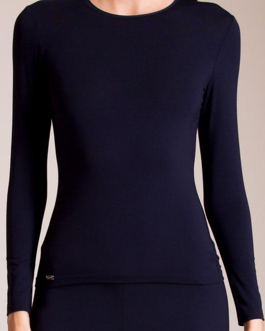 La Perla - Blue New Project Long Sleeve Shirt - Lyst