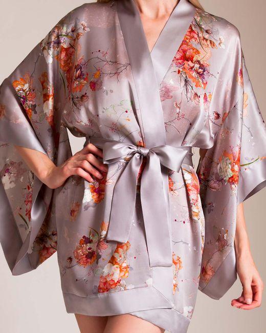 Meng - Pink Short Kimono - Lyst