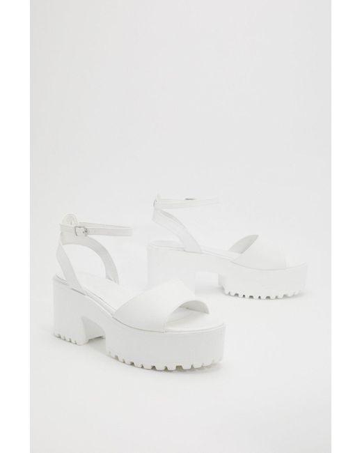 It Cleated Platform Sandals