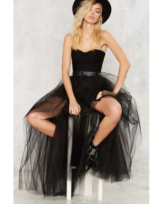Nasty Gal | Black Tulle For The Summer Tutu Skirt | Lyst