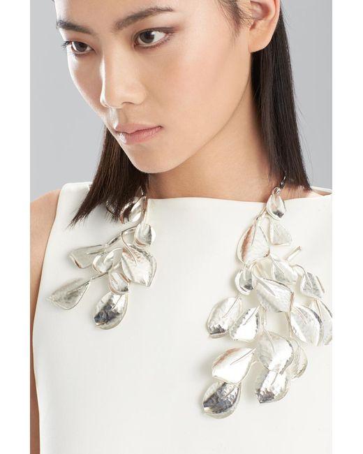 Natori | Metallic Hammered Metal Necklace | Lyst