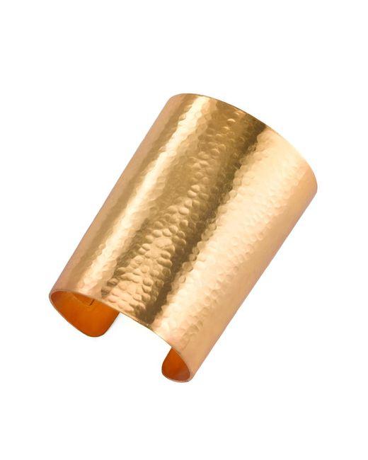 Natori   Metallic Hammered Gold Cuff   Lyst