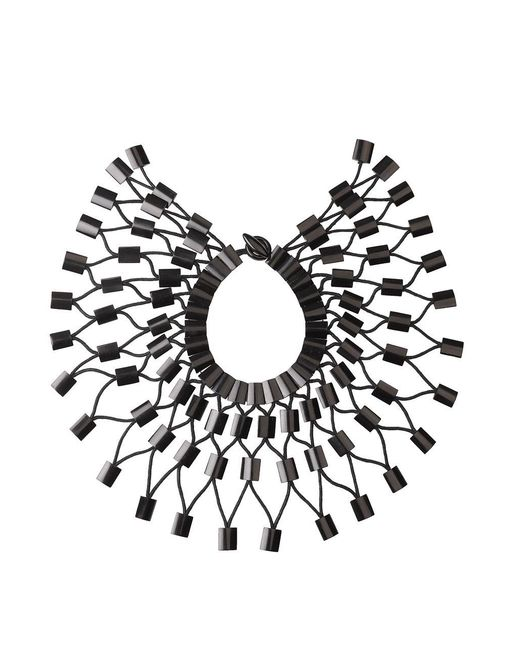 Natori - Black Buffalo Horn Necklace - Lyst