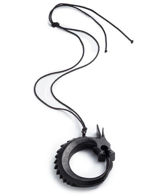Natori - Multicolor Josie Horn Dragon Necklace - Lyst